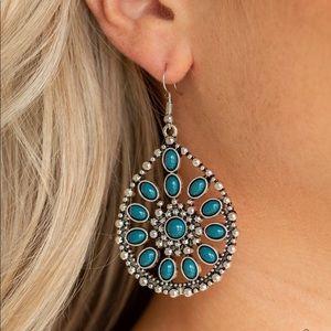Free To Roam Blue Earrings